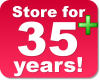 Store data for 35 years!